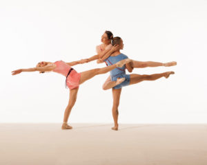 The James Sewell Ballet performs a dance by choreographers Sharon Eyal and Gai Behar.